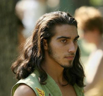 hair styles for guys with long hair greeks and romans were not a white culture 5294 | long men hairstyle 54