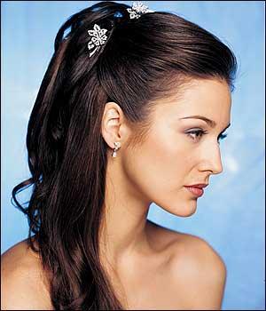 Elegant And Stylish Bridal Hairstyle