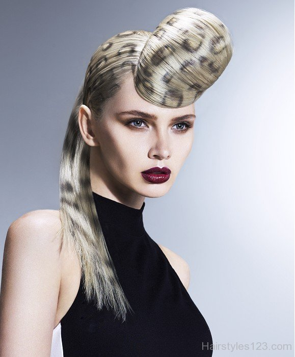 leopard print hair style avant garde hairstyles page 5 2791
