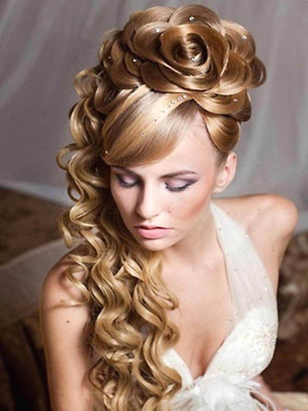 beautiful hair styles bun hairstyle page 22 1073